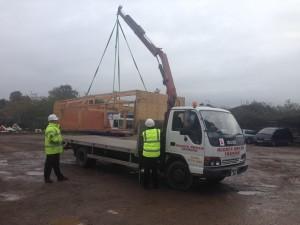 Hi-ab Lorry loader
