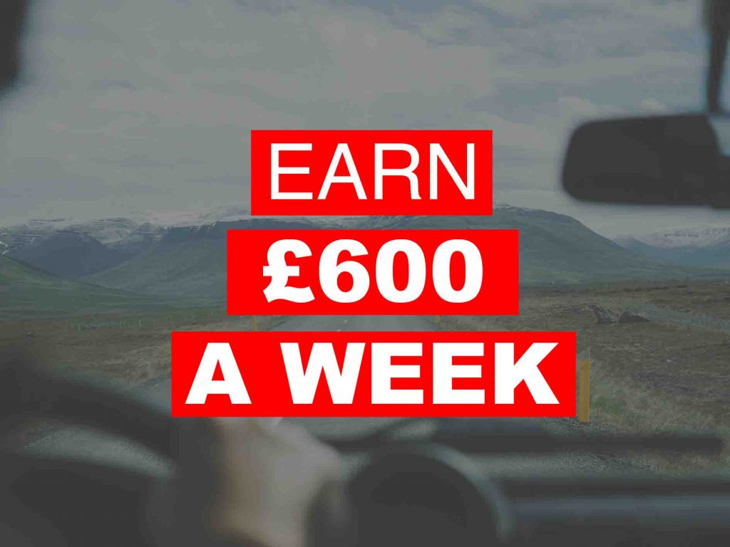 Earn £600 a week with a HGV Career